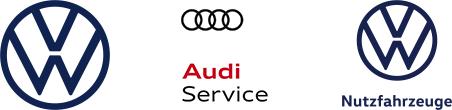 VW Logo Audi Service Logo VW Nutzfahrzeuge Logo Socke Spa-Logo